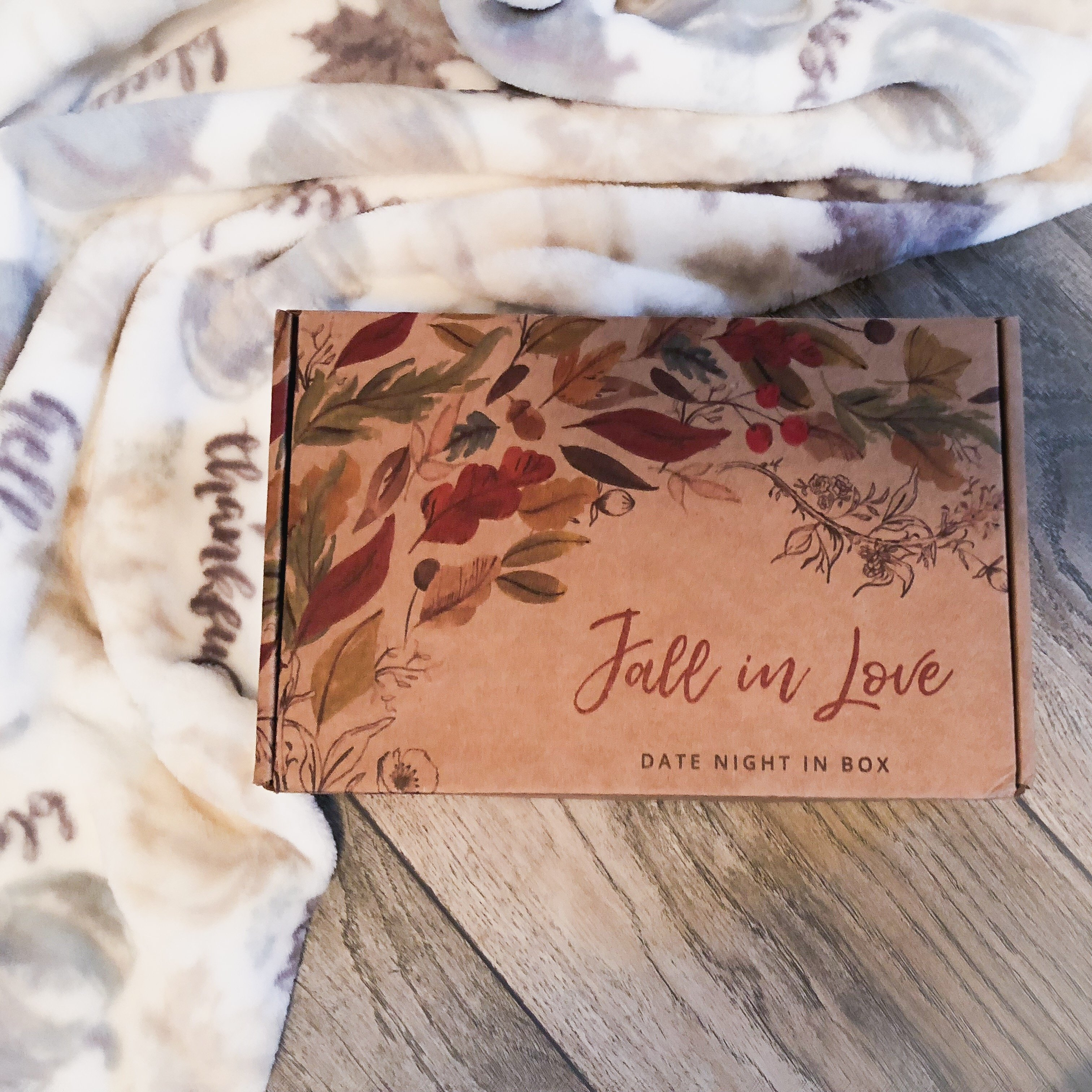 'Fall'ing in love with this month's Date Night In Box