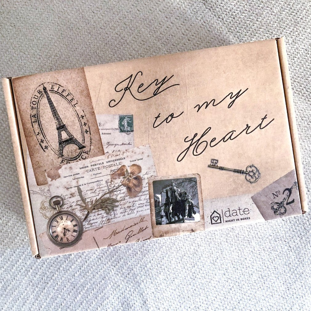 Date Night In Box: Key To My Heart