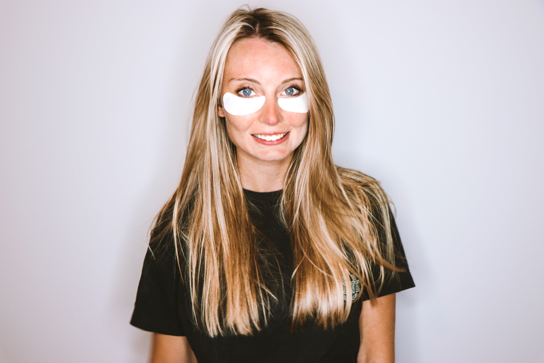 Eye Skin Care with VIIcode Oxygen Eye Mask