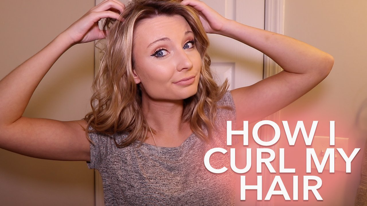 How I Curl My Hair With A Curling Wand