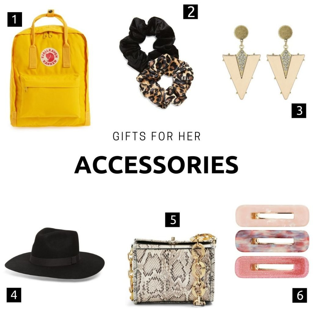 Gifts for her: Accessories