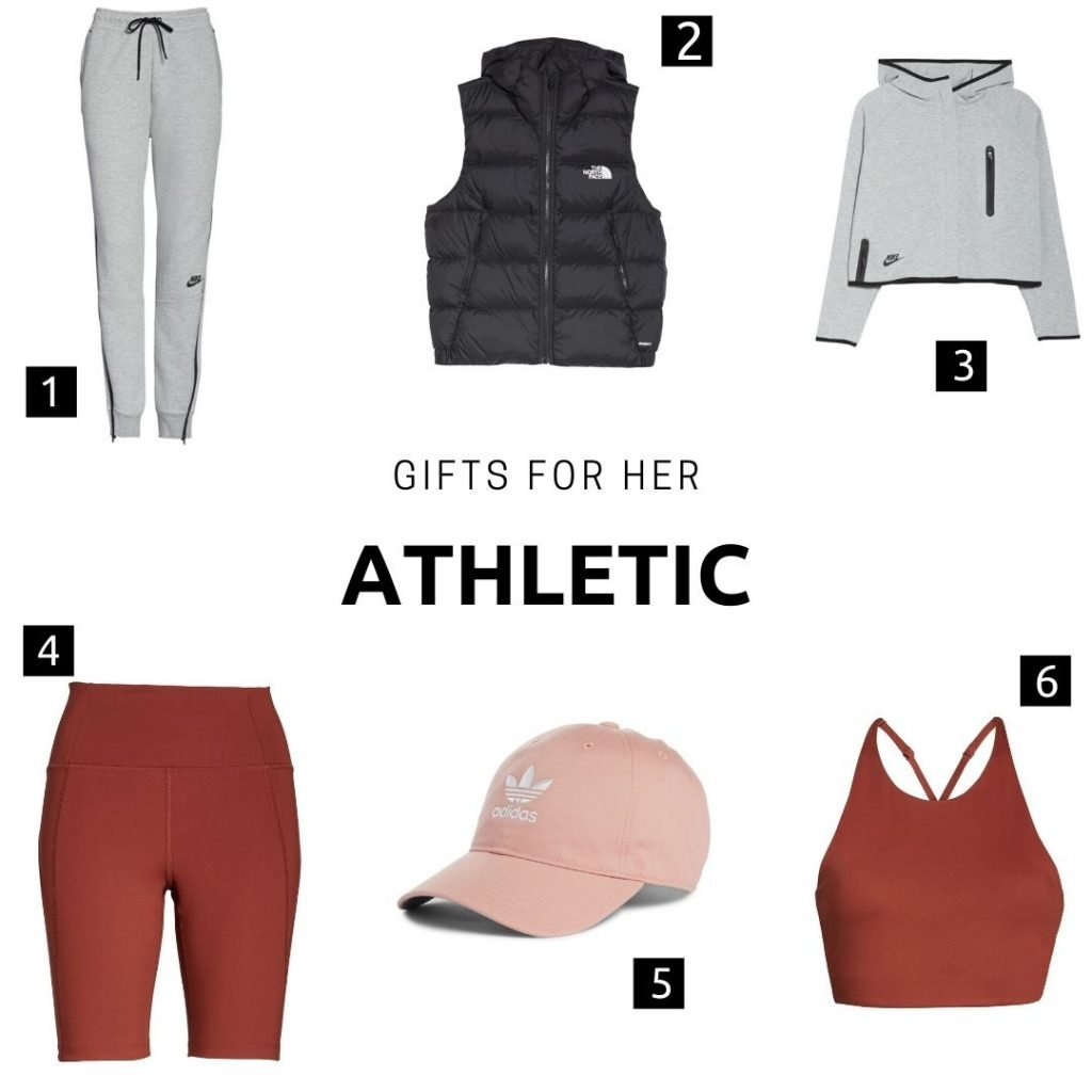 Gifts for her: athletic
