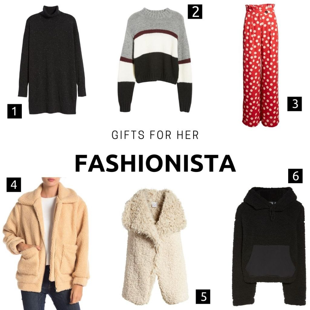 Gifts for her: fashionista