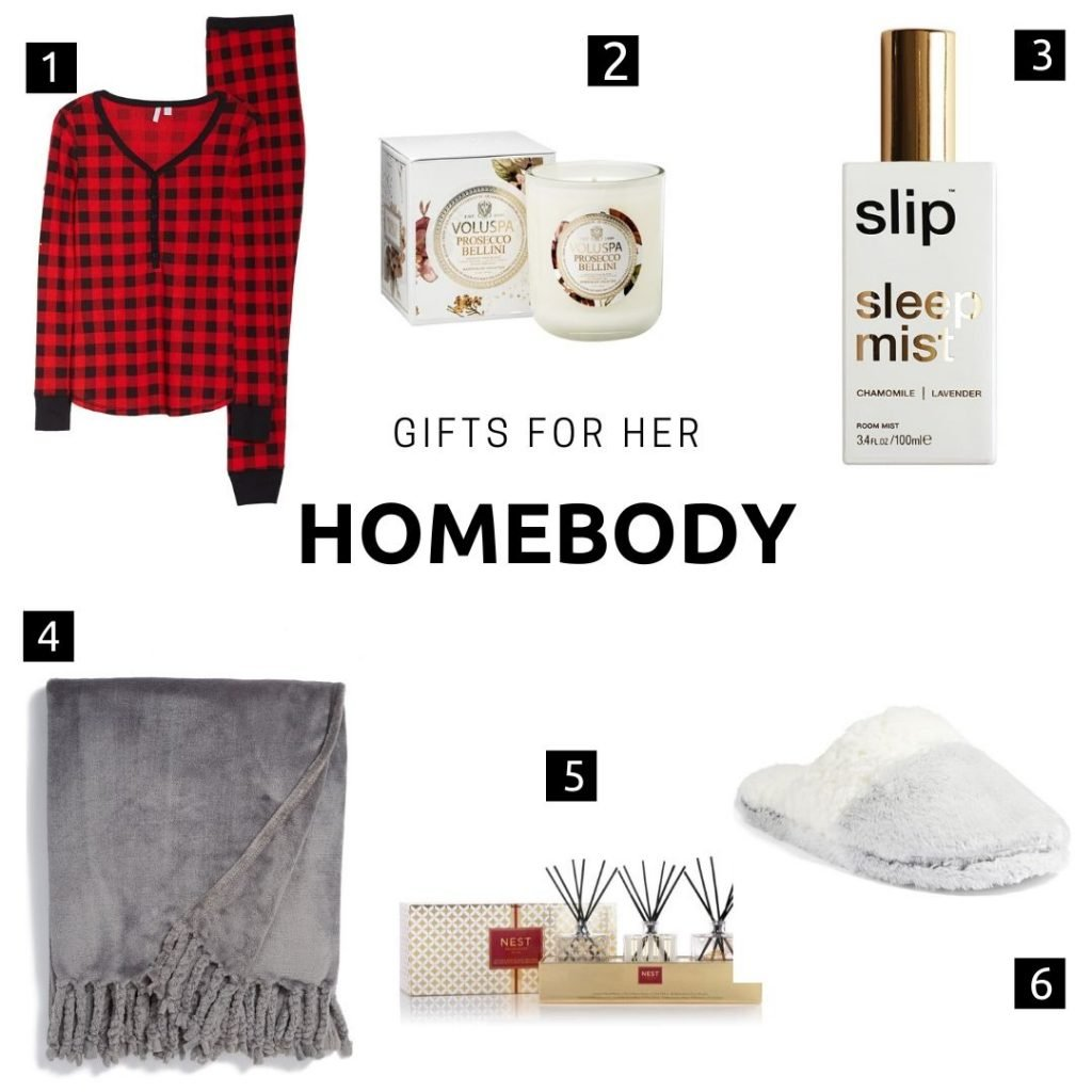 Gifts for her: homebody