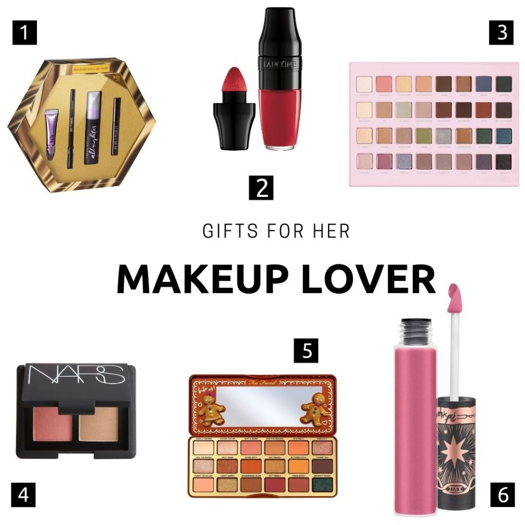 gifts for her: makeup lover