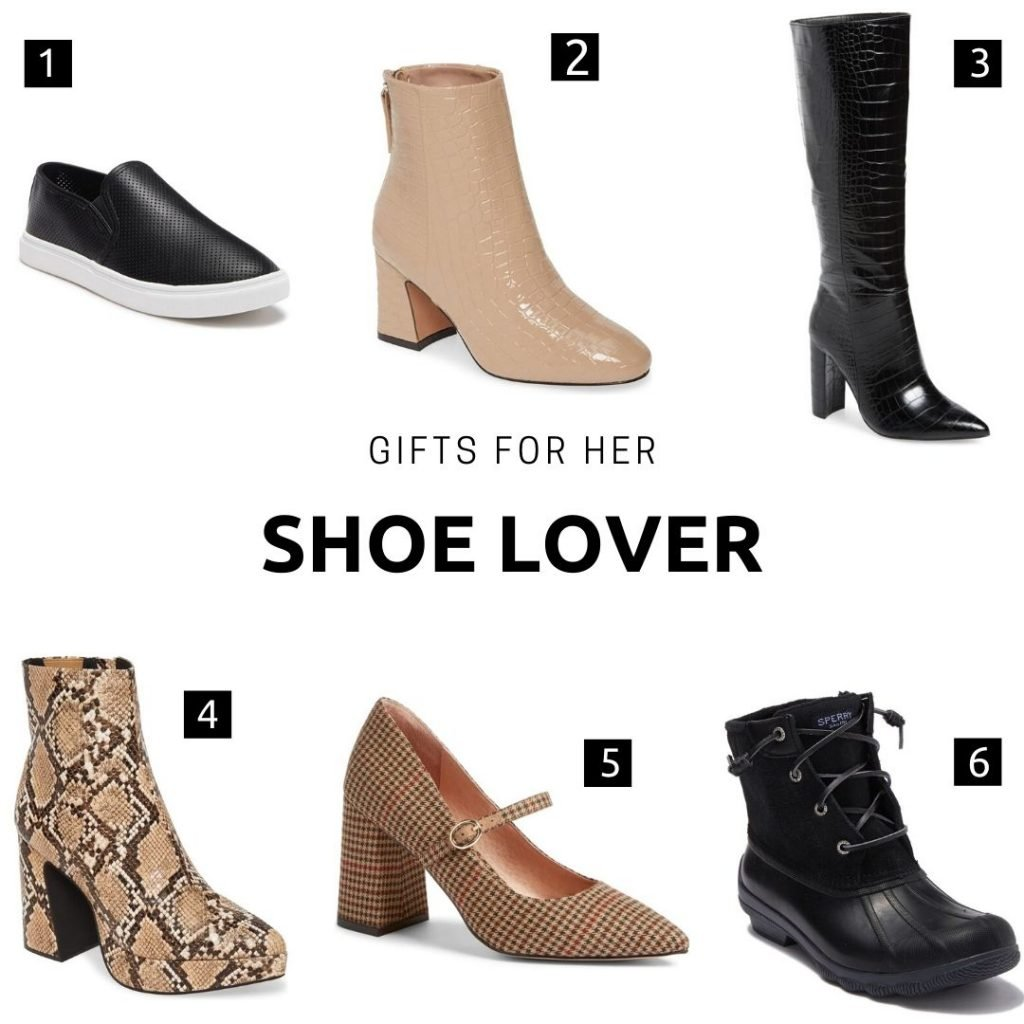 Gifts for her: shoe lover