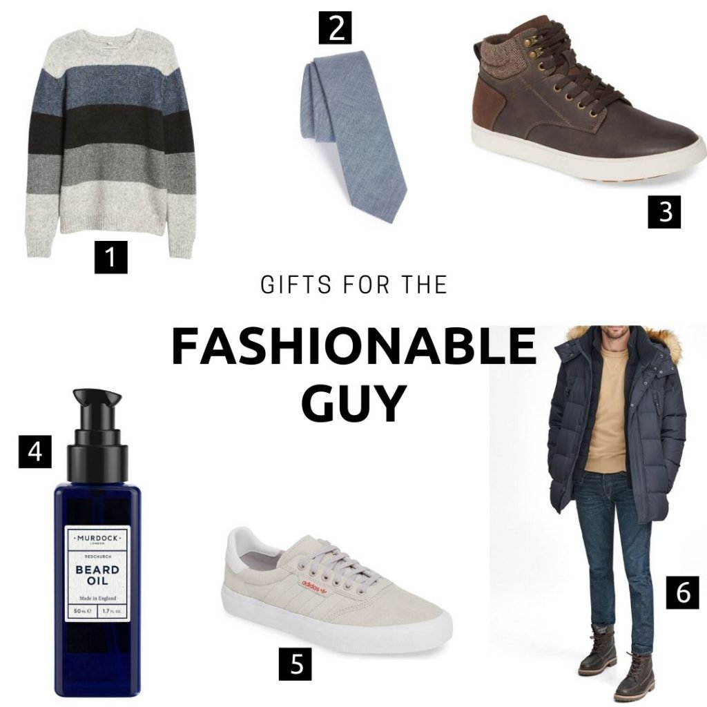 Gifts for him: Fashionable Guy
