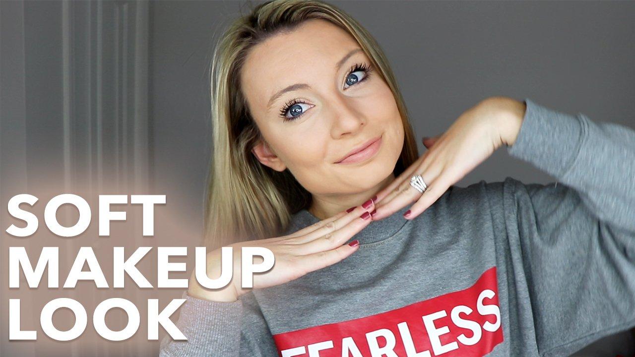 Simple & soft makeup look tutorial