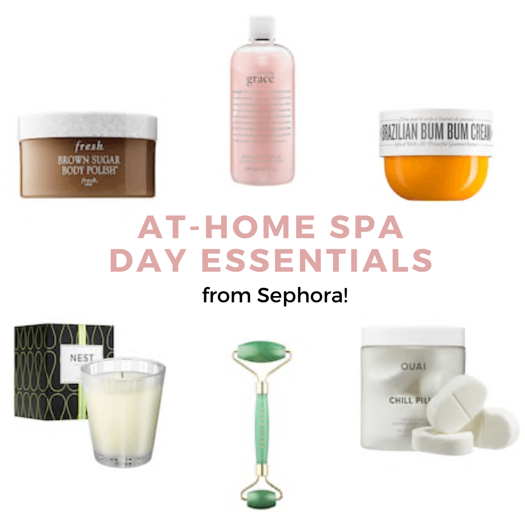 At home spa day essentials