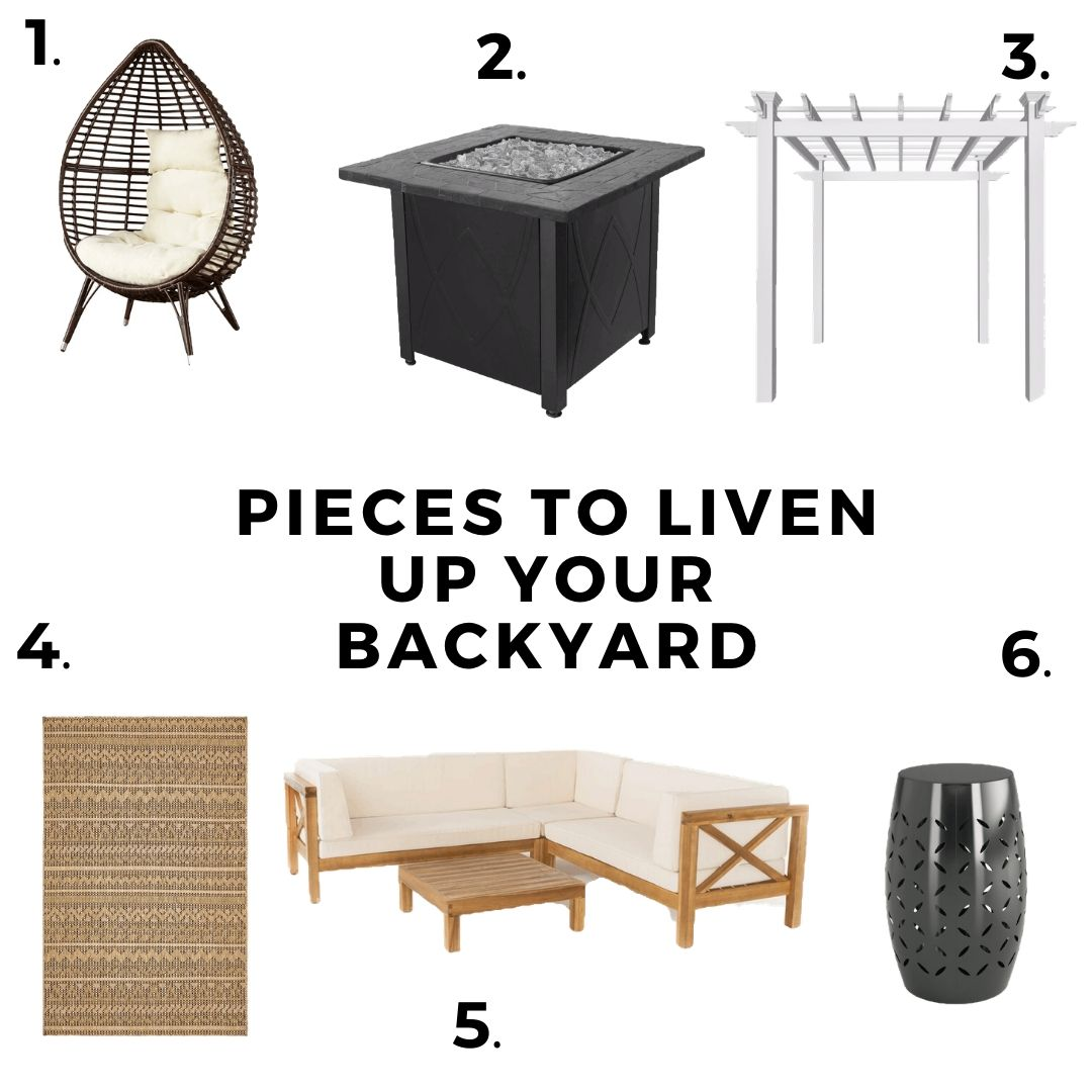 6 Pieces to Liven Up Your Backyard or Patio