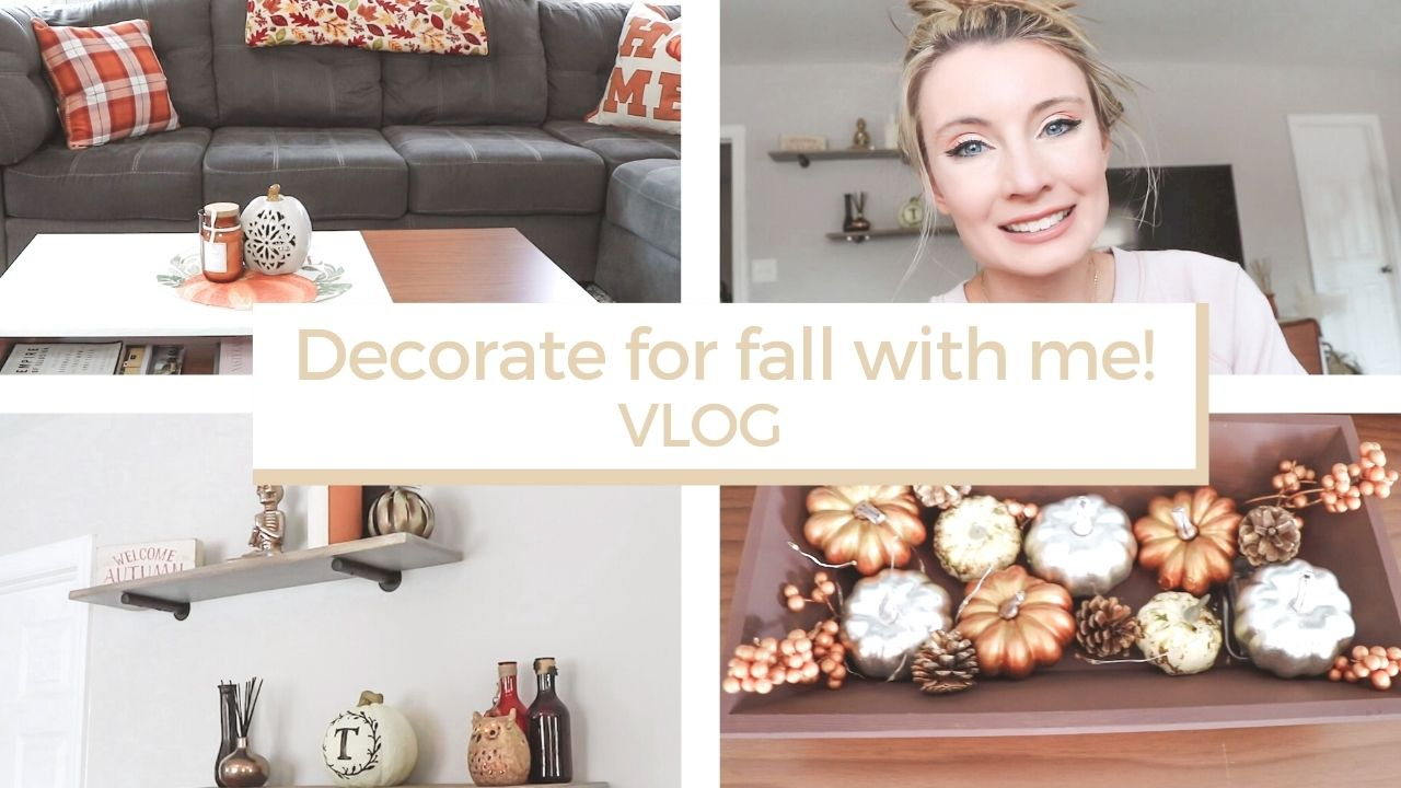 Decorate for fall with me! | VLOG