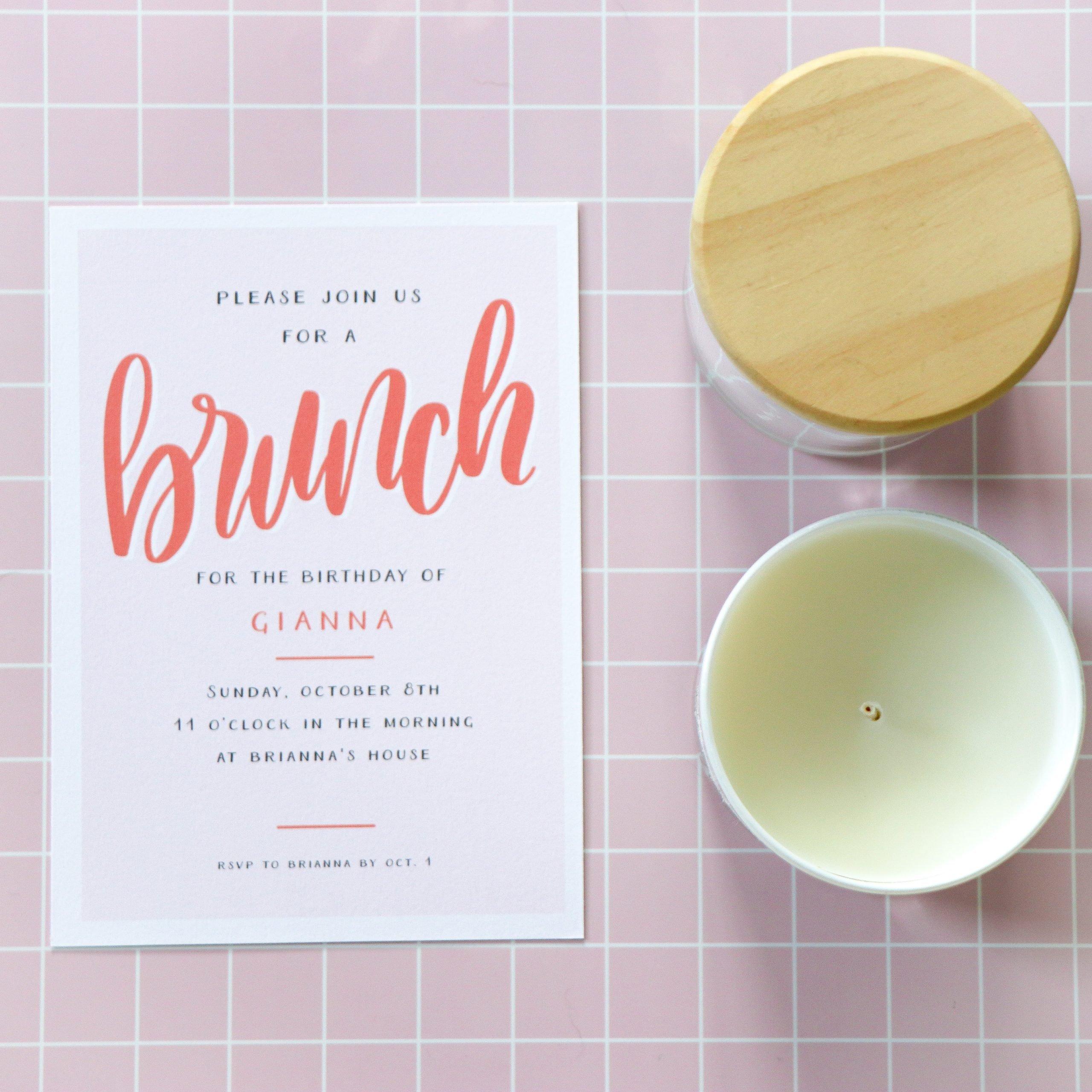 customizable invitation