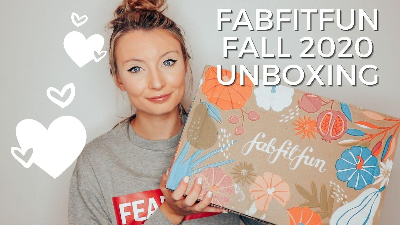 FabFitFun Fall 2020 Unboxing
