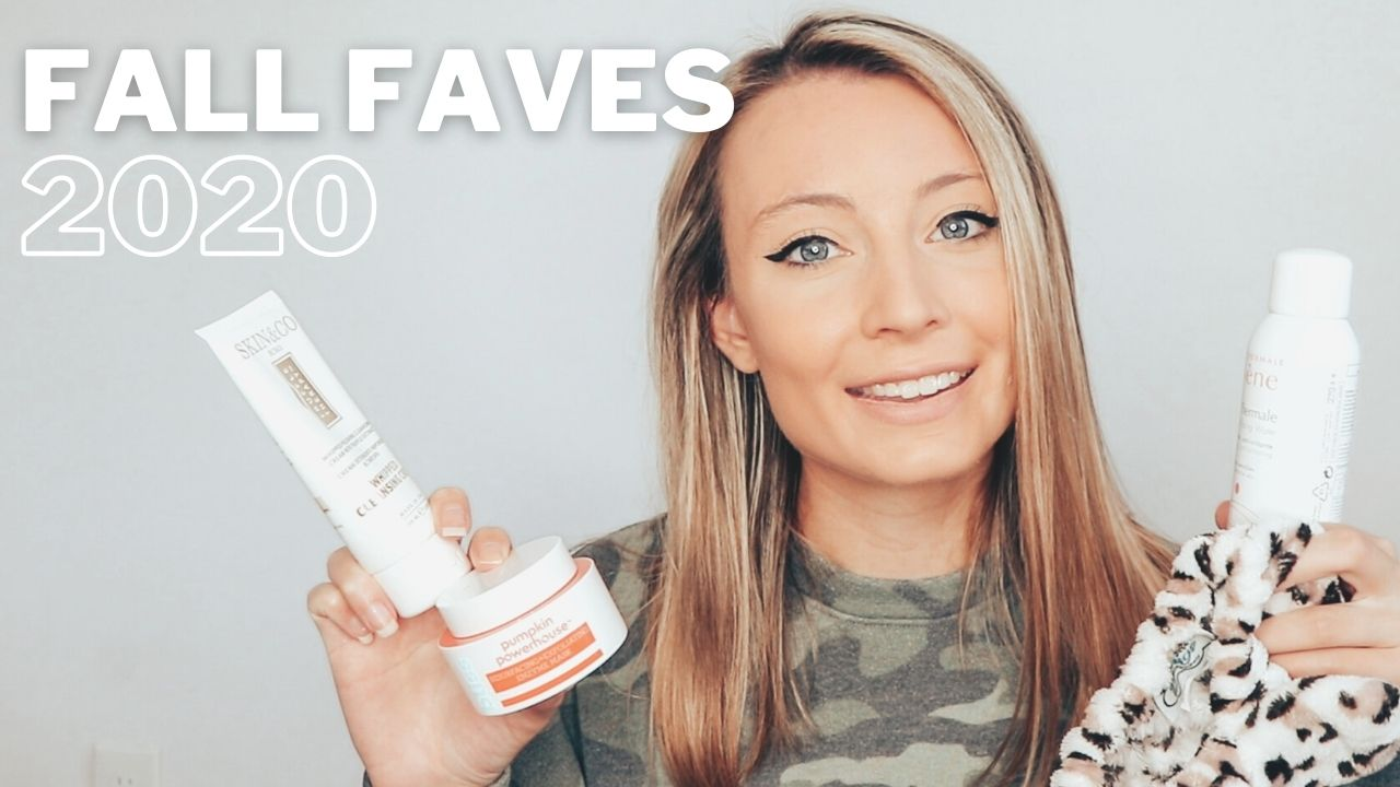 Fall Skincare & Haircare Favorites!
