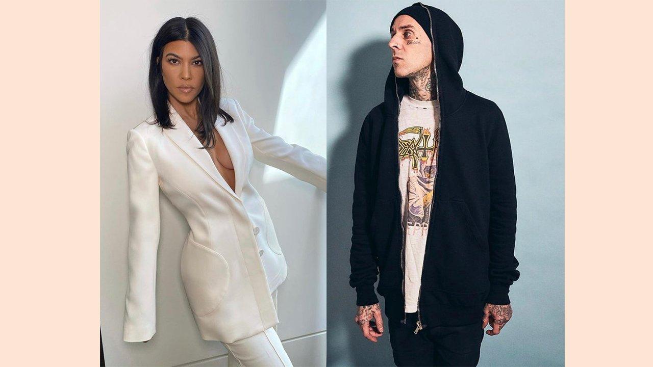Kourtney Kardashian and Travis Barker Spark Dating Rumors