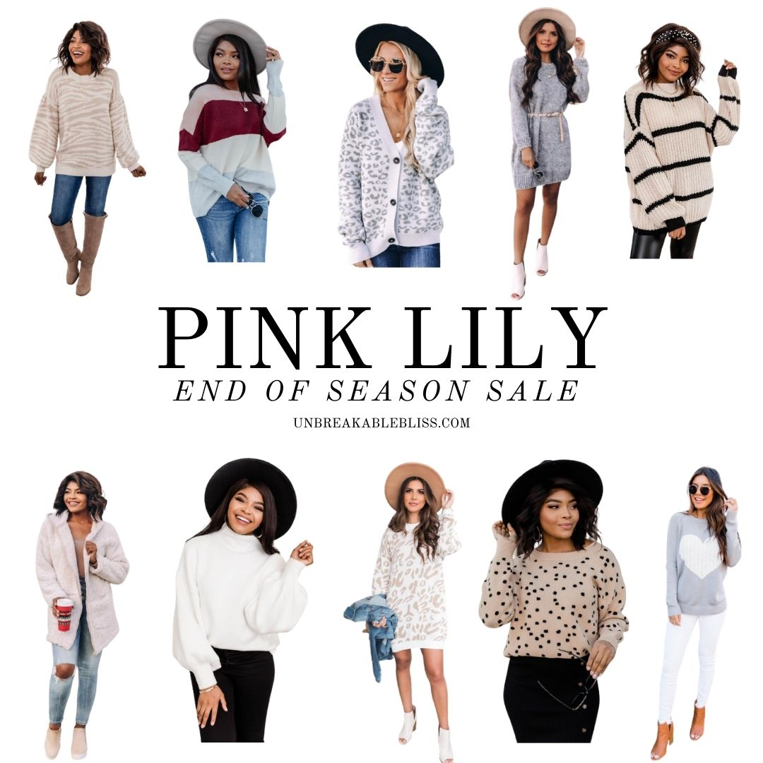 Pink Lily End of Season Sale