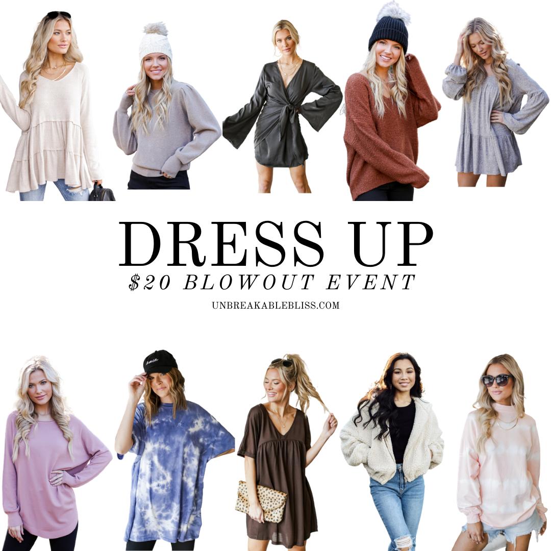 Dress Up Sale