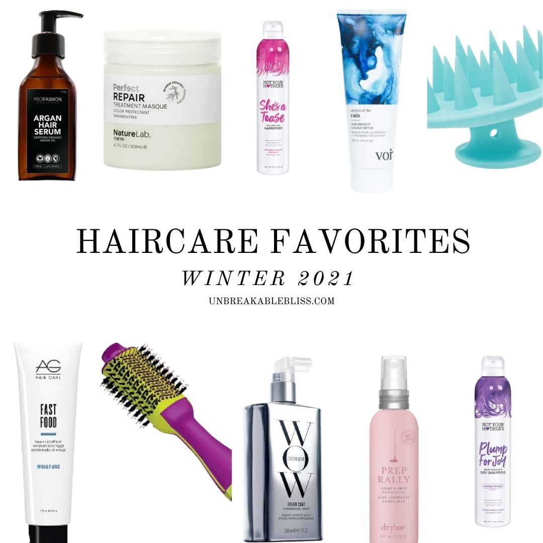 haircare favorites winter 2021
