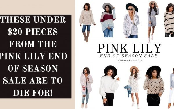 These Under $20 Pieces From The Pink Lily End of Season Sale Are To Die For!