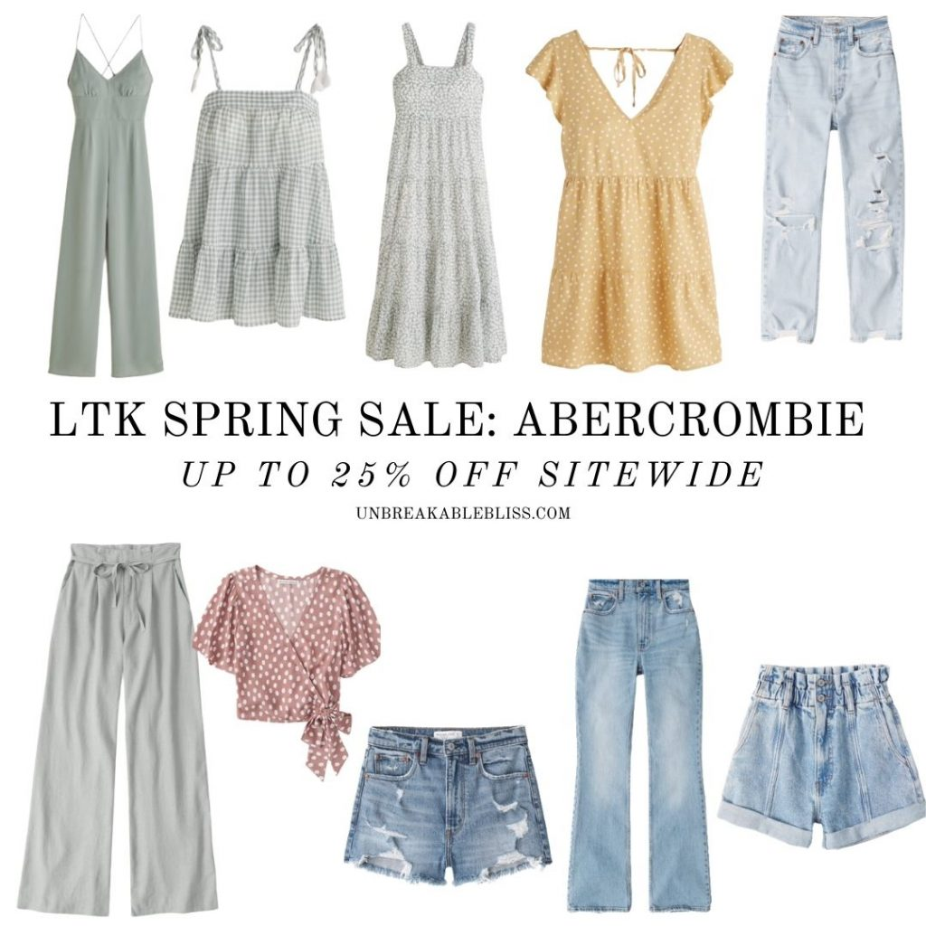 LTK Spring Sale Abercrombie and Fitch