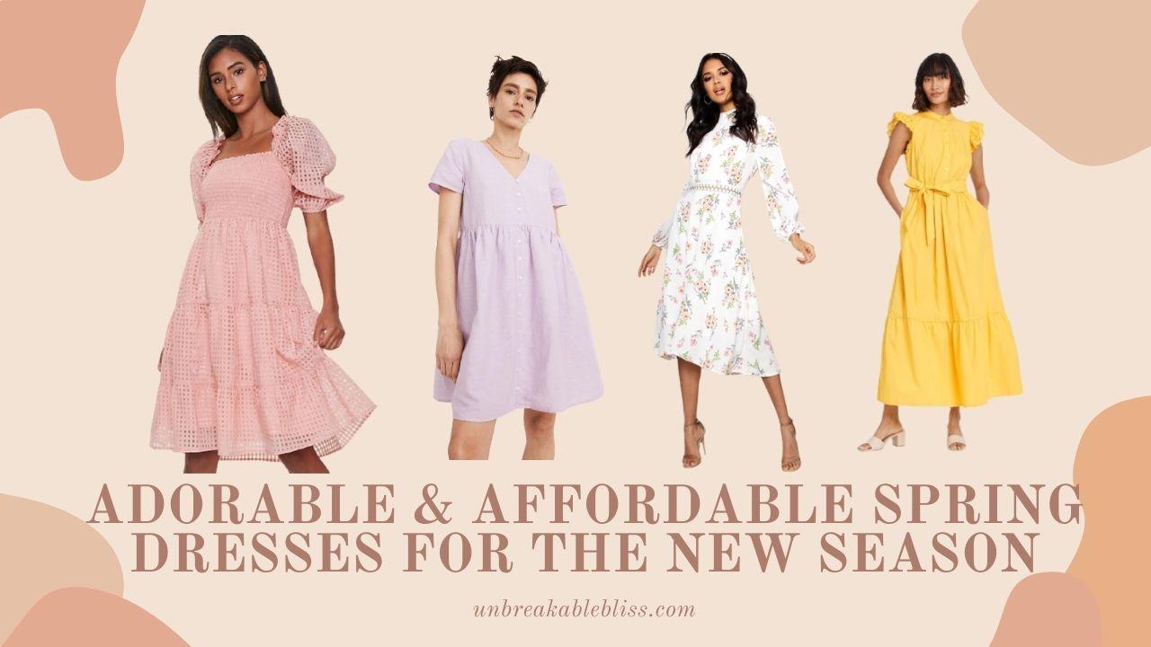 Affordable Spring Dresses