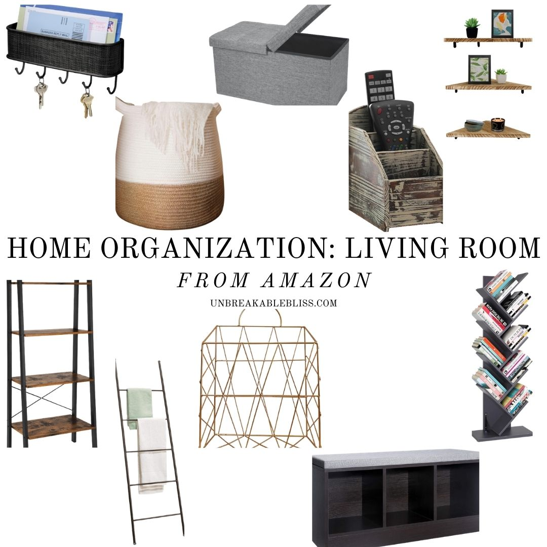 living room organization