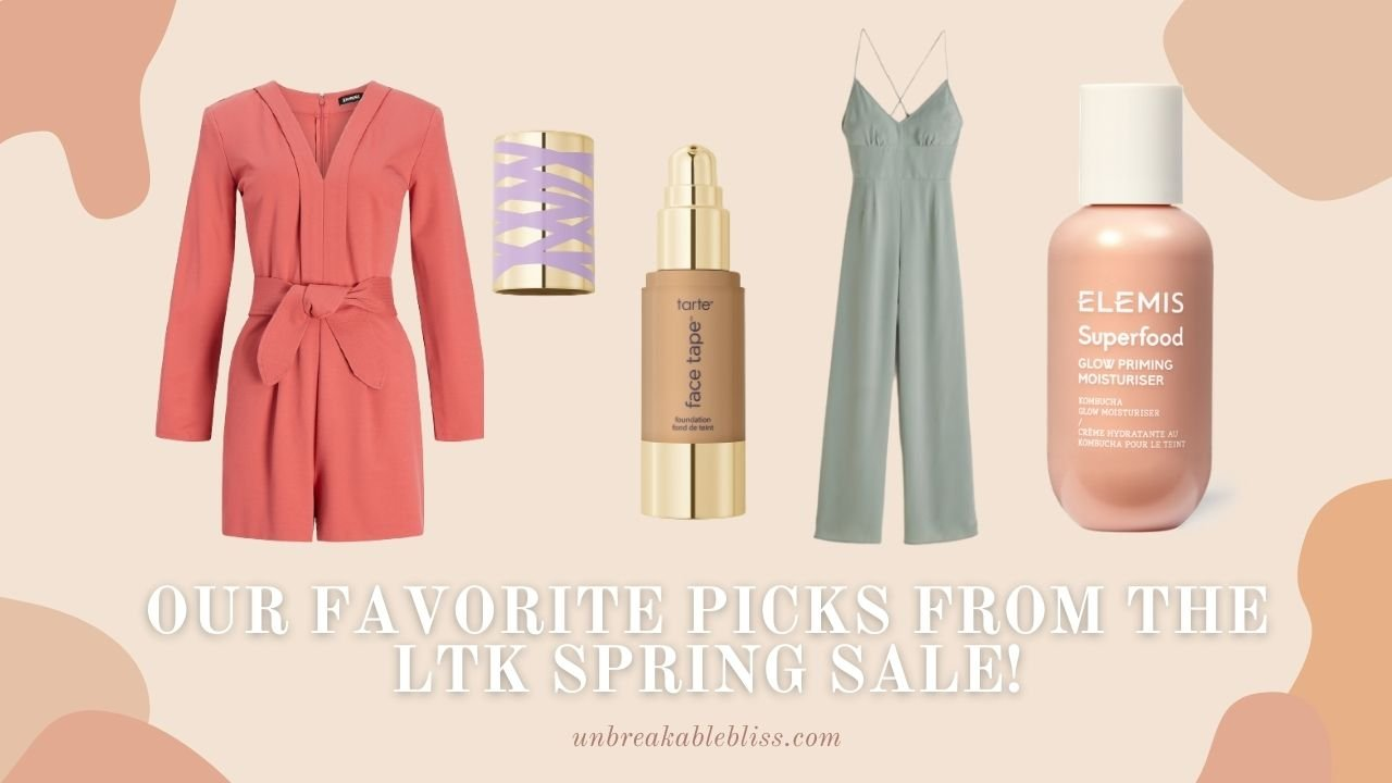 Our Favorite Must-Shop Items from the LTK Spring Sale!