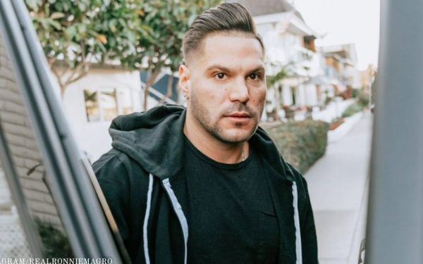 'Jersey Shore' Star Ronnie Ortiz-Magro Arrested For Domestic Violence