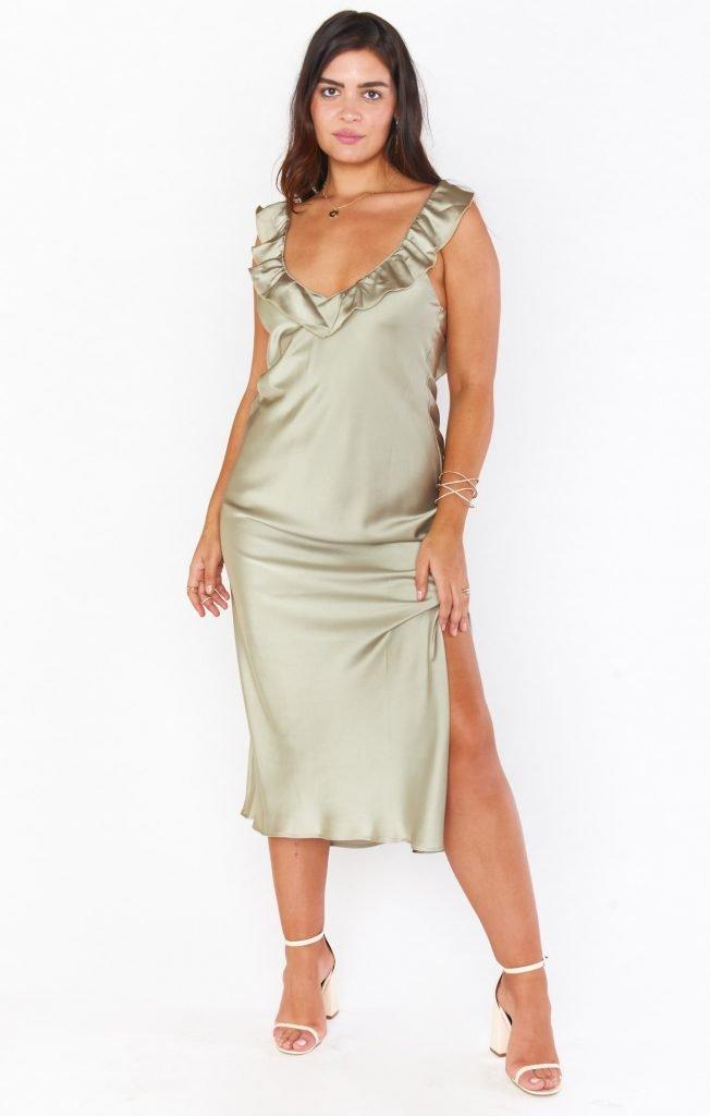 Show Me Your Mumu Slip Dress
