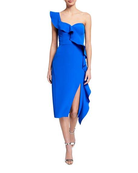 Neiman Marcus Blue Dress