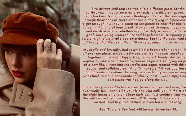 Taylor Swift Announces Next Re-Recorded Album