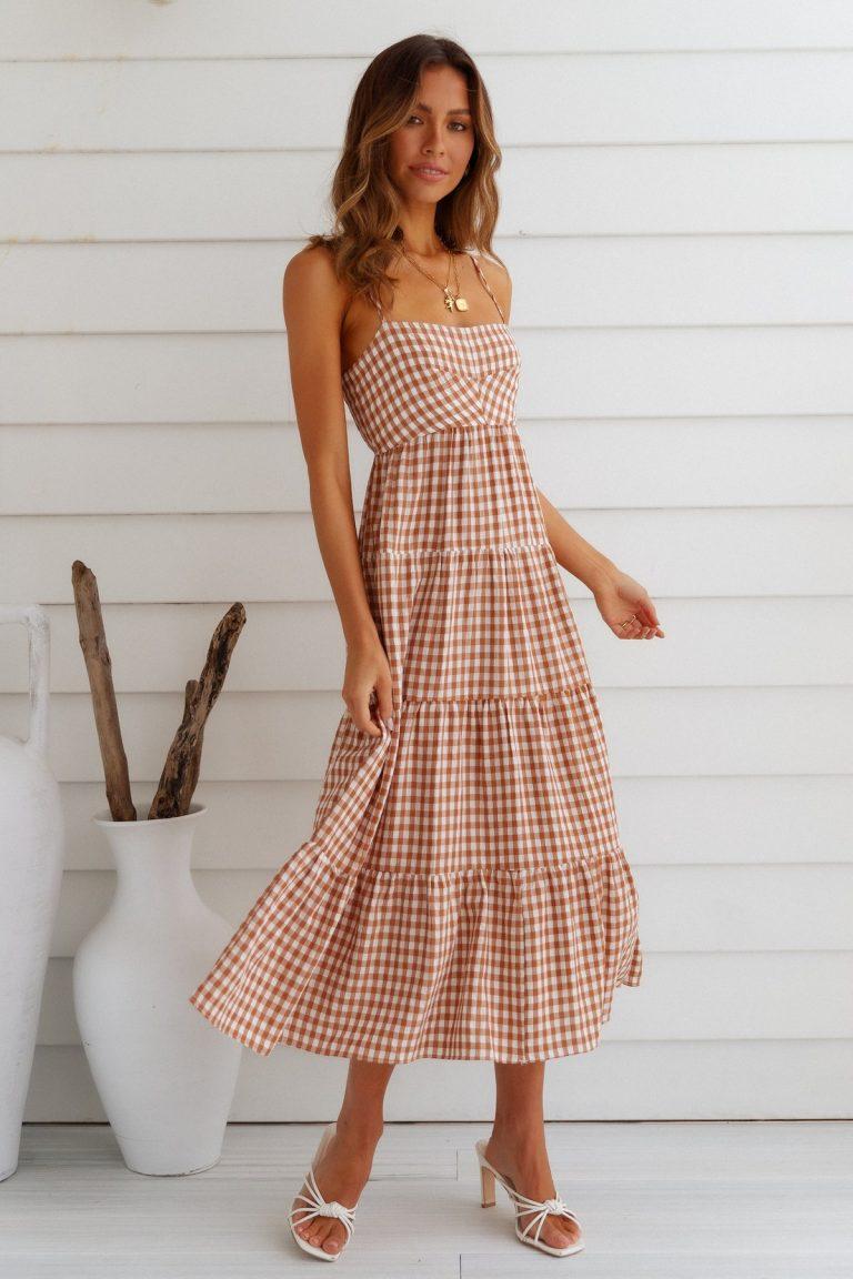 hello Molly maxi dress