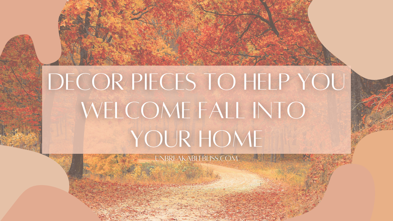 Fall Decorations To Help You Welcome The New Season Into Your Home