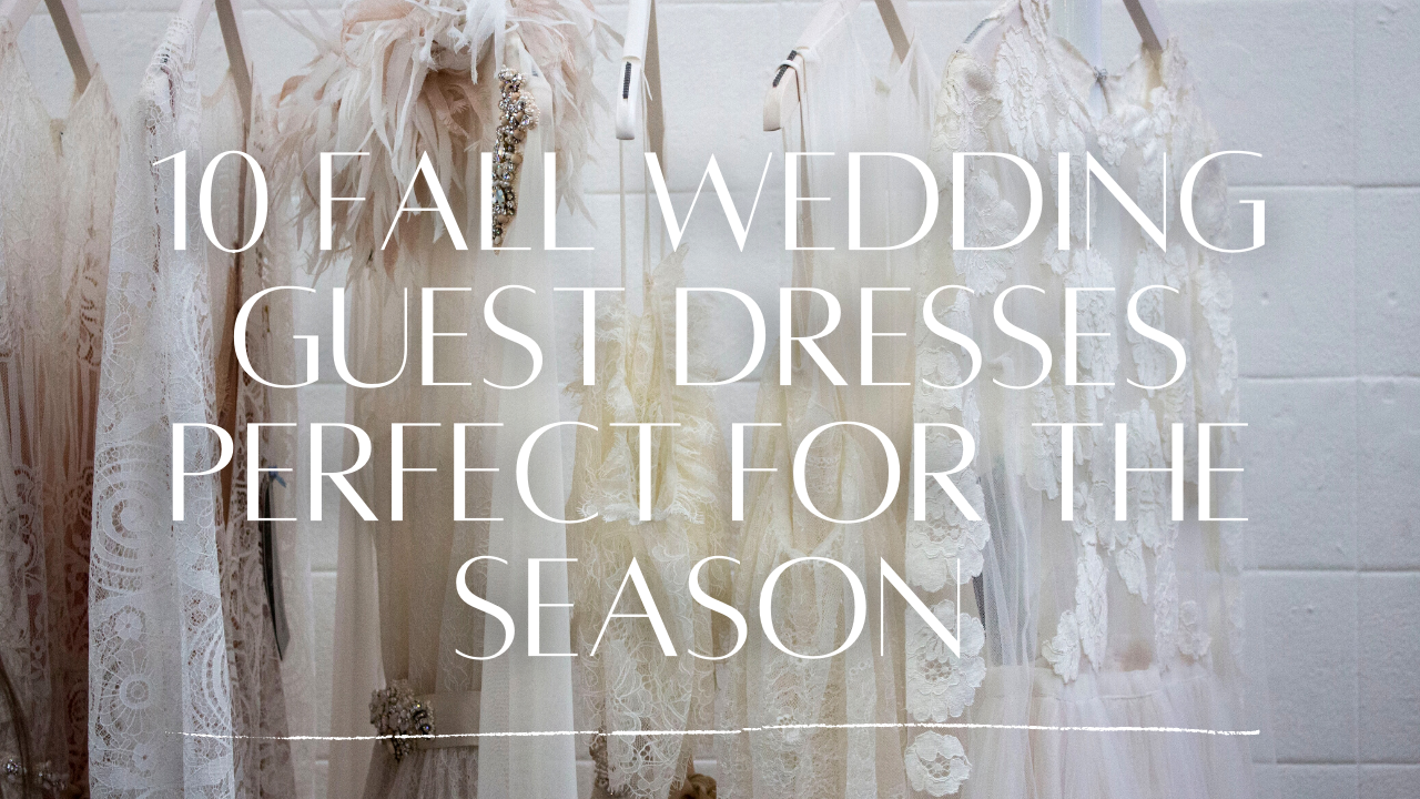 10 Fall Wedding Guest Dresses Perfect For The Season