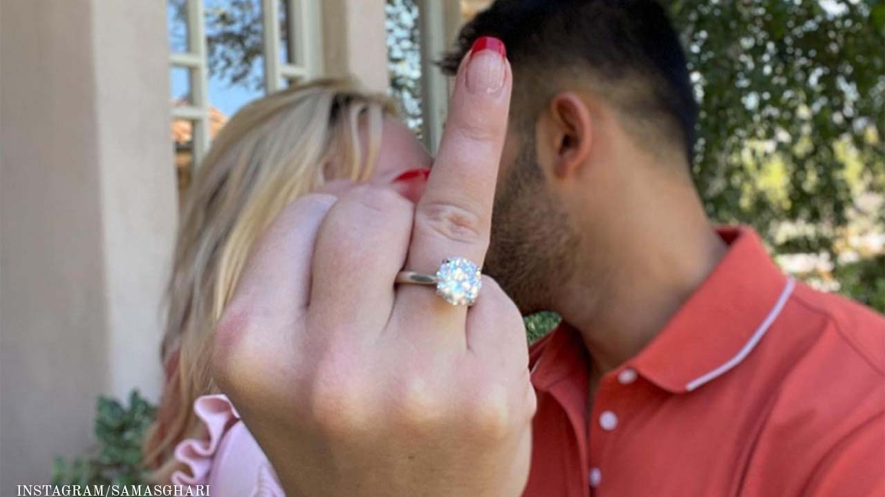Britney Spears And Sam Asghari Get Engaged