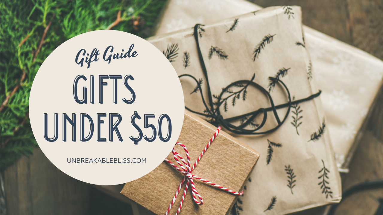 HOLIDAY GIFT GUIDE: Awesome Gifts Under $50