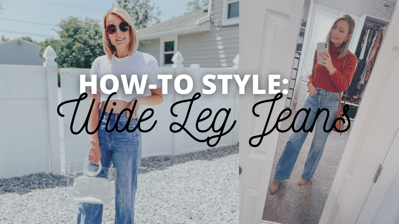 How-To Style: Wide Leg Jeans