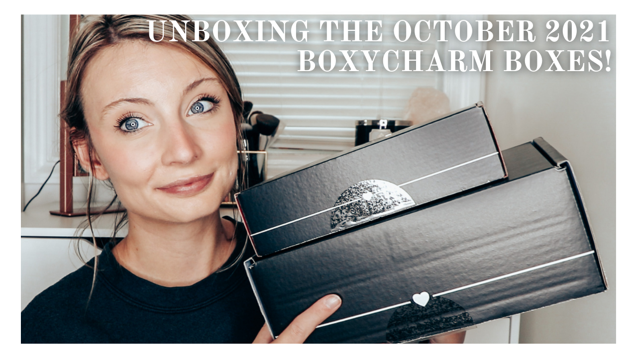 Taking A Look At The October 2021 Boxycharm Boxes